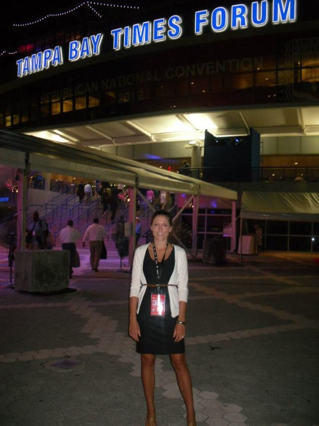 tampa bay times forum, RNC, republican national convention