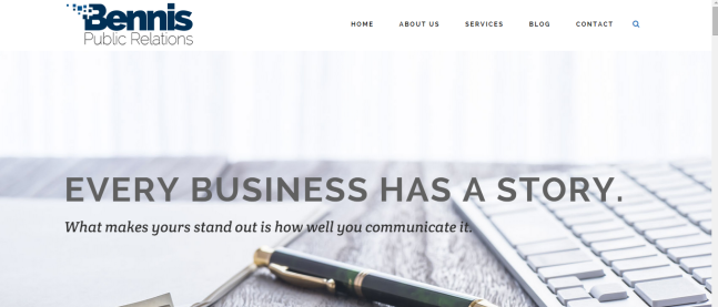 The homepage has just two slider images that communicate our most important messages. The images are high resolution, modern, elegant and timeless - all words I wanted my new website to embody.