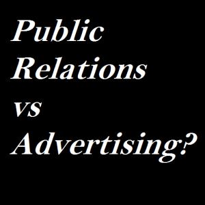 PR vs Advertising