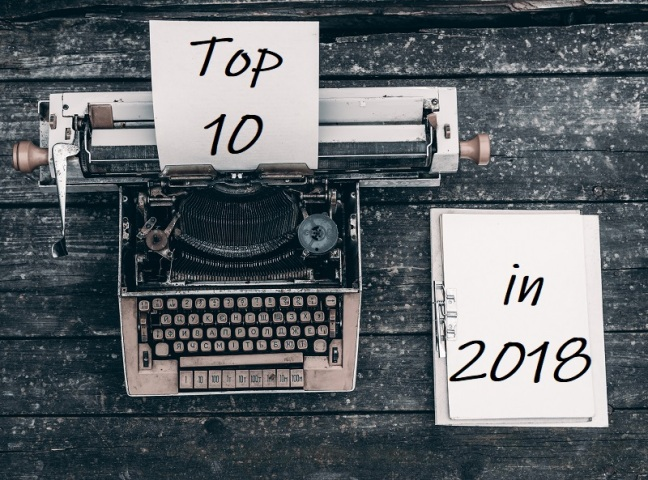 Top 10 Blog Posts on Life and Entrepreneurship in 2018